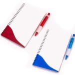 Cuaderno con lápiz